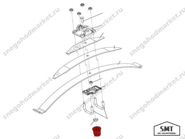 Амортизатор 110300162 схема