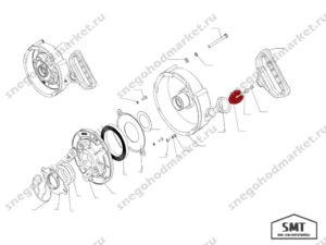 Амортизатор 110500521 схема Буран