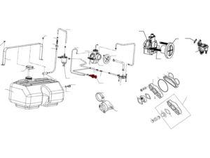 Бензонасос механический SMT (OR) схема
