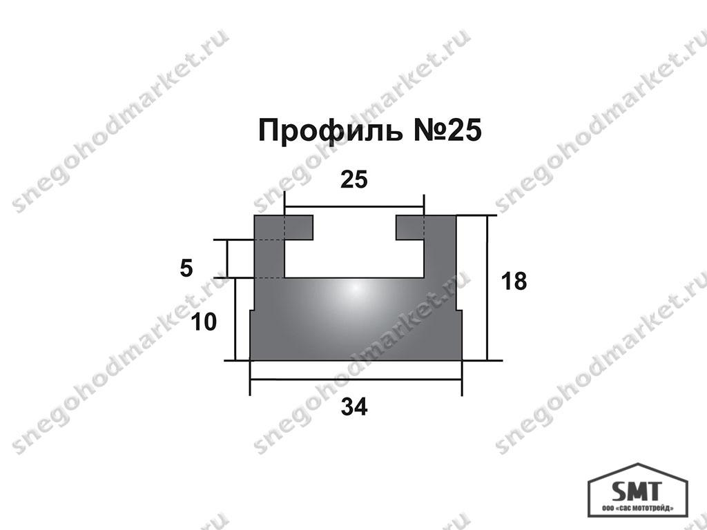 Склизы Yamaha VK4, Pro №25-56.89-3-01-12 графит (Garland, USA)
