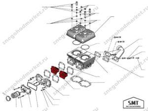 Клапан лепестковый EL0559AO-R схема