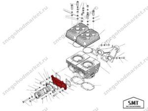 Коллектор впускной C40500001 схема