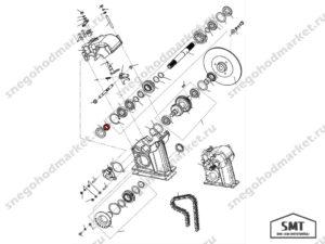 Втулка 110602231 схема Буран