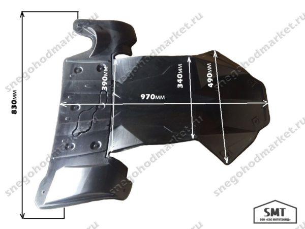 Защита для снегохода Ski-Doo платформа: REV-XM/REV-XS; Lynx платформа: Rex2, 4100 OEM: 860200605, 860201046