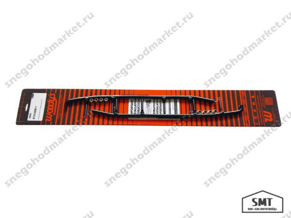 Коньки лыж Woodys EYV3-6580-1 Yamaha Extender Trail 3 Series Runner 4 60 Degree Carbide