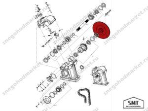 Диск тормозной 110602271 схема Буран