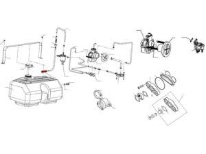 Фильтр топливный 110800220 схема Буран