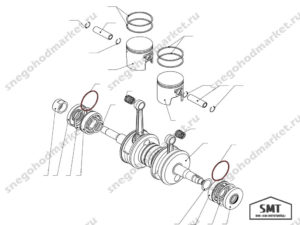 Кольцо амортизационное 110500105 схема Буран