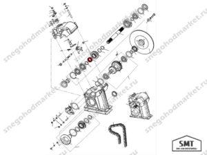 Кольцо распорное 340600103 схема Буран