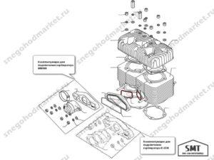 Кольцо уплотнительное 110500107 схема Буран