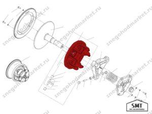 Конус подвижный Сафари C40600420 схема