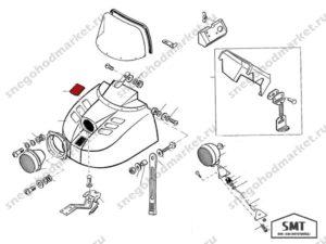 Крышка 110700126 схема Буран
