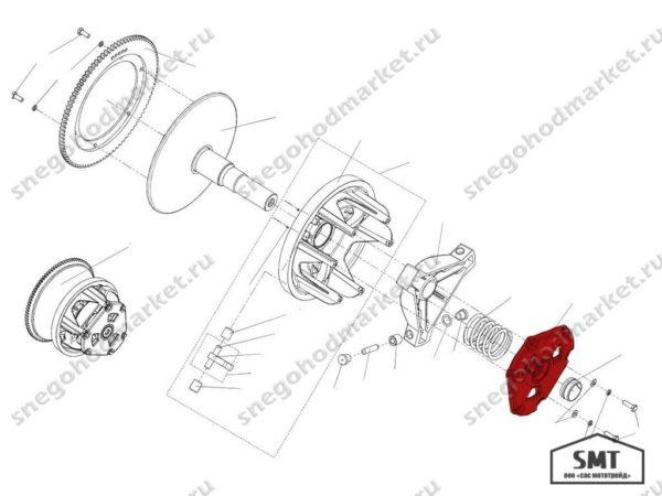 Крышка C40600402 Сафари схема