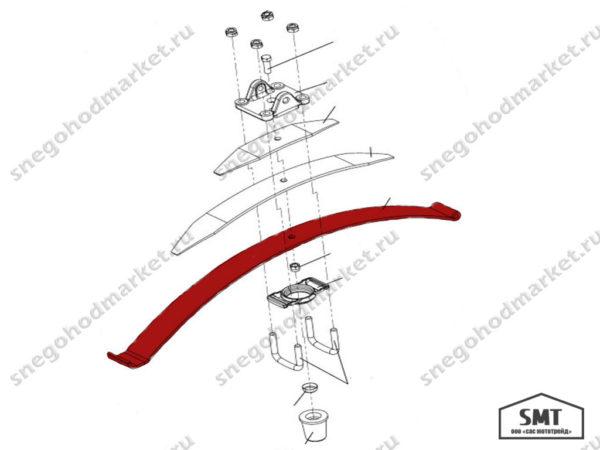 Лист коренной 110300184 схема Буран