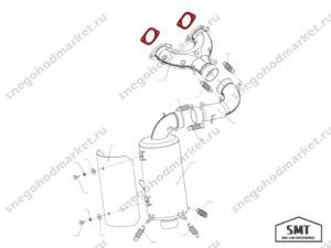Прокладка 110500710 схема Буран