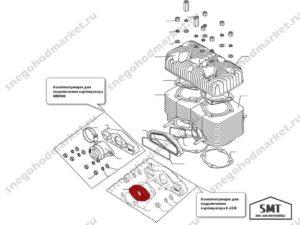 Проставка 110500975 схема Буран