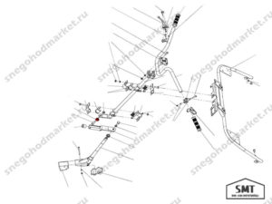 Ролик руля 110300246 схема Буран