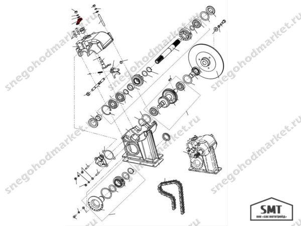 Рычаг 110600211 схема Буран