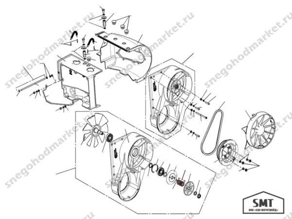 Шайба регулировочная 110500553 схема Буран