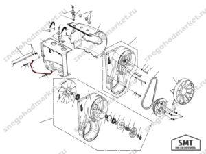 Скоба-кронштейн 110501259 схема Буран