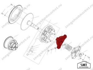 Упор C40600401 Сафари схема Буран