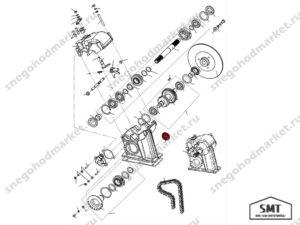 Заглушка 110600079 схема Буран