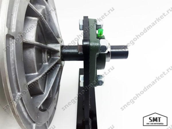 Кронштейн двухопорный (малый, усиленный) для мотобуксировщика