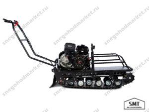 Мотобуксировщик Бурлак-М2 LRK длинный на катках